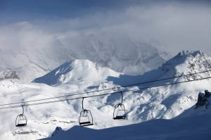 The Roc Merlet Chair & beyond towards the Petit Mont Blanc